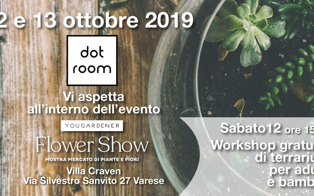 Dotroom a Yougardener Flower show