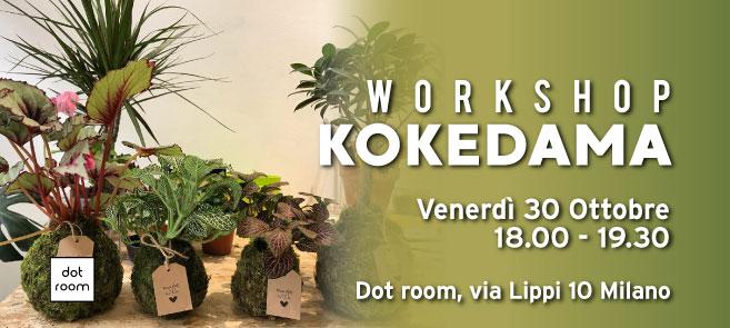 Workshop di Kokedama