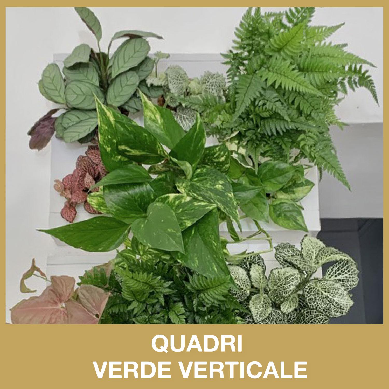 Quadri verde verticale idea regalo natalizia da dot room milano